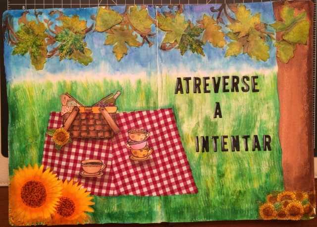 Art Journal Atreverse a Intentar