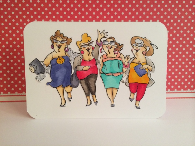 Copic Paseo Con Amigas