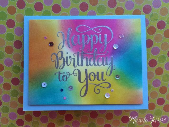 Feliz Mic Cumpleaños